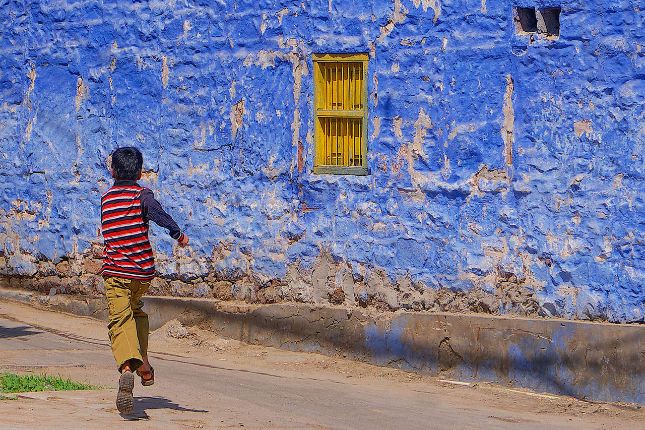 The blue city of Jodhpur, Rajasthan, India ©2017